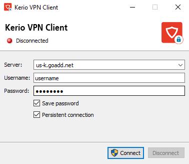 Kerio VPN MAC